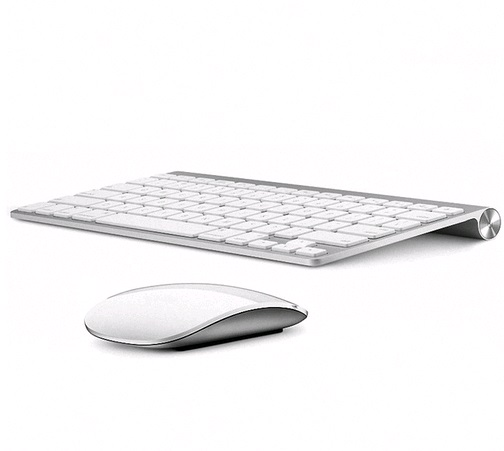 G Ultra Thin Chocolate Key Wireless Keyboard Mouse Combos kit for Apple