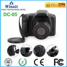"5mp Cmos sensor digital video digital camera with 2.eight"" TFT show dslr related digital camera free delivery"