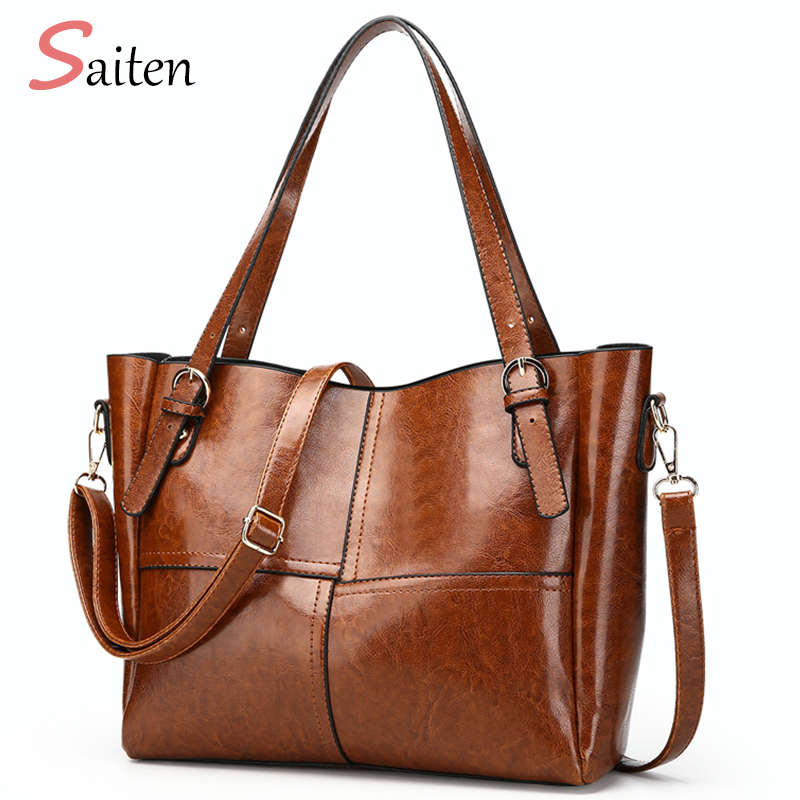 2018 New Leather PU Women Bags Handbags Fashion Women Totes handtasche Women Shoulder Bag Hot Sale Large Capacity Bolso femenino