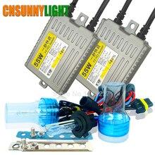 CNSUNNYLIGHT Xenon Bulb Kit for Cars 12V 55W Hid Conversion Slim Ballast Fast Bright Headlight Fog Light  H1 H3 H7 H8 H11 9005