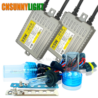 Xenon Light Bulbs Kit For Cars 12V 55W Hid Conversion Slim Ballast Fast Bright Headlight Fog