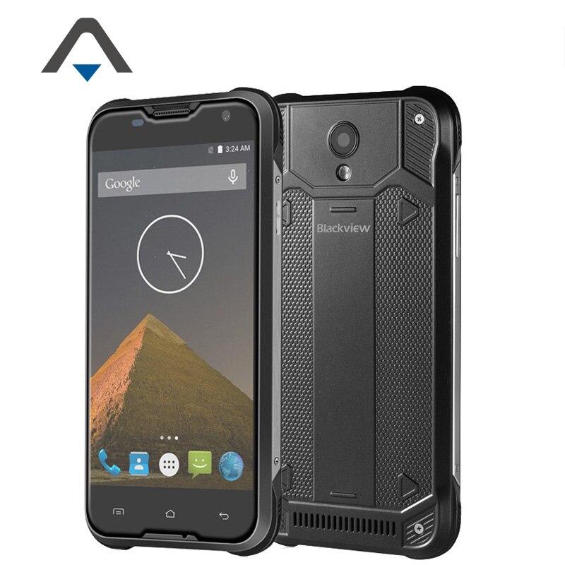 "Original Blackview BV5000 FDD 4G LTE IP67 Waterproof Cell Phone MTK6735 5.0"" Quad Core Android 5.1 2GB RAM 16GB ROM 8.0MP Stock"