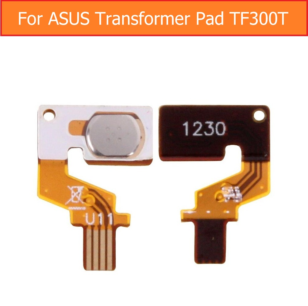 Genuine switch on off power Flex cable For Asus Transformer Pad TF300 TF300TG lock screen button & power sleep button flex cable weeten genuine lcd panel flex cable for asus transformer pad tf701t k00c lcd display flex cable