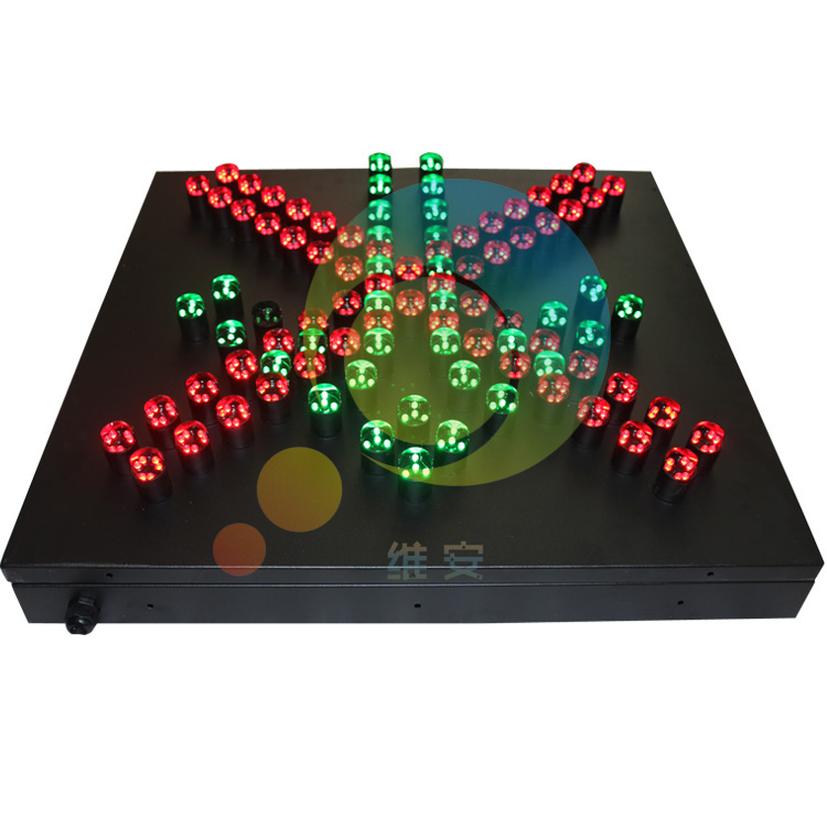 New Arrival Factory Price 600mm Toll Station Red Cross Green Arrow High Brightness Traffic Light