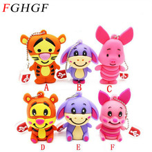 Tiger pig usb flash drive pendrive 4GB 8GB 16GB 32GB memory disk
