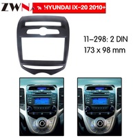Car DVD Player frame For 2010+ Hyundai IX20 2DIN Auto AC Black LHD RHD Auto Radio Multimedia NAVI fascia