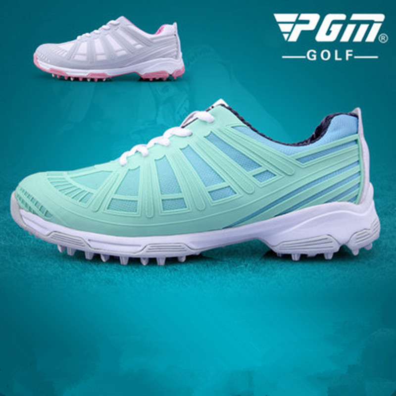 2018 new! PGM golf shoes ladies double patented golf shoes waterproof anti-skid double patent sneakers anti-side Yan pgm genuine golf shoes men s double patent golf shoes high performance anti collision exoskeleton anti skid soles