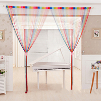 RUBIHOME Colours String Tassels Door Curtain Separate For Living Children Room Decoration Home Textile Without Tube