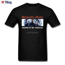 Depeche Mode T Shirt Plus Size Short Sleeve Men's T-shirt Summer 3d Printer O-neck Cotton T Shirts For Boys
