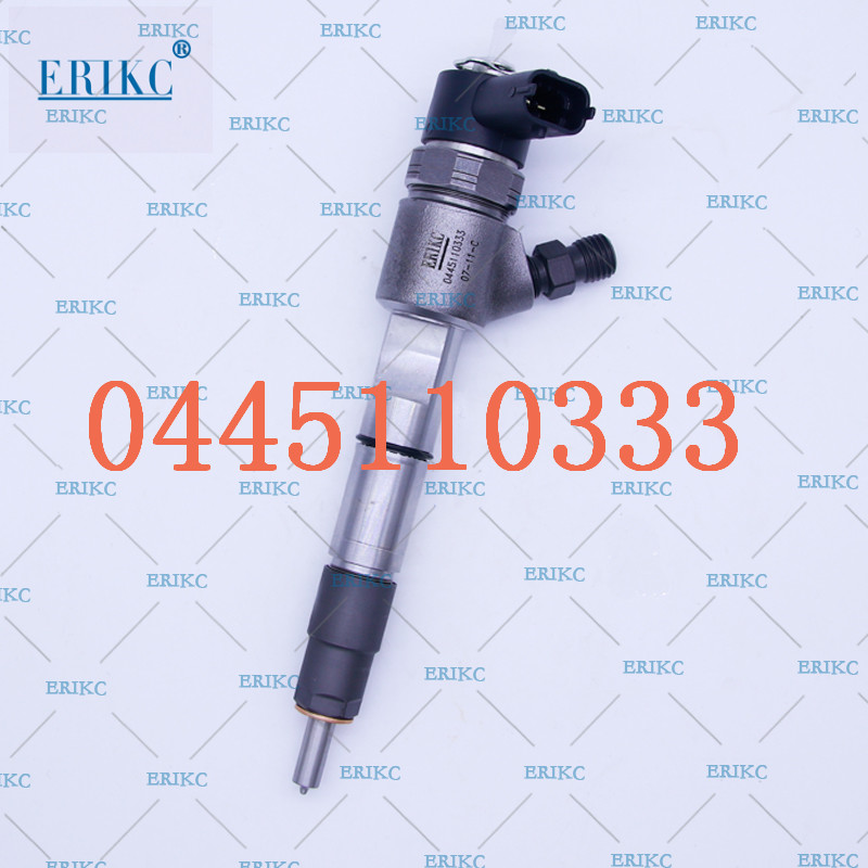 ERIKC 0445110333 Diesel injector auto fuel system 0445 110 333 common Rail injector crdi 0 445 110 333 automation injection