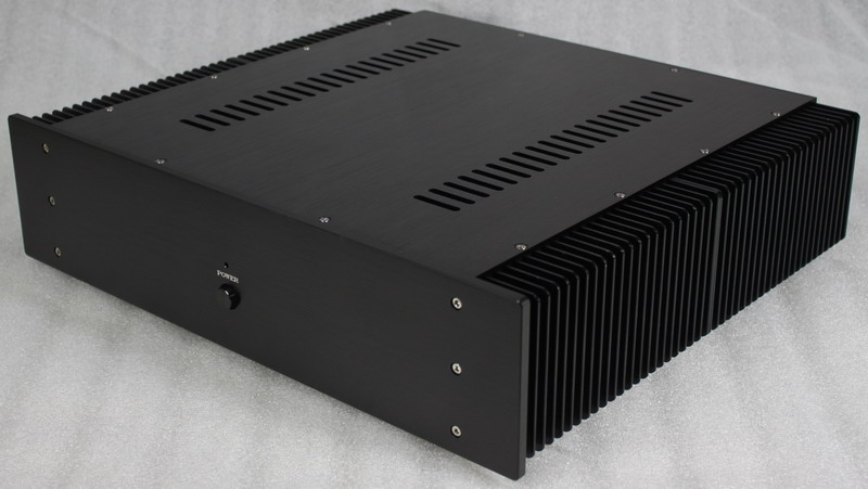 QUEENWAY WA16 High Radiate Full Aluminum Case amplifier chassis box 430mm*463mm*113mm 430*463*113mm queenway audio 2215 cnc full aluminum amplifier case amp chassis box 221 5mm150mm 311mm 221 5 150 311mm