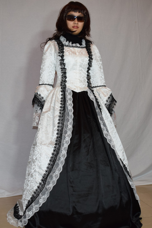 Robe victorienne Renaissance robe de bal Lolita reconstitution Costume robe de bal