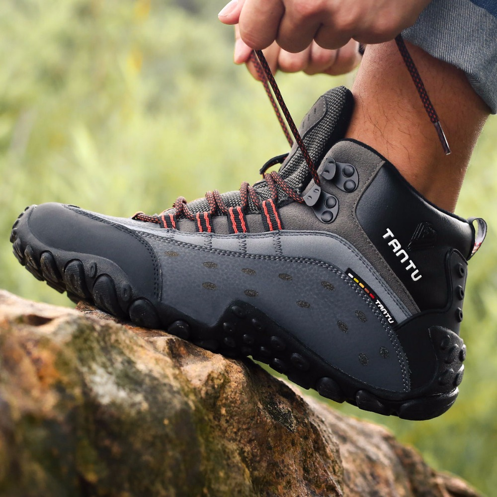 PINSV Hiking Boots Men Sneakers Men Hiking Shoes Trekking Shoes Men Outdoor Waterproof Zapatillas Trekking Hombre Impermeables недорго, оригинальная цена