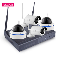 2MP Full HD 4CH Wifi NVR Kit 1080P Plug And Play 4Channle Wireless Home Security Video Surveillance IP Camera System P2P
