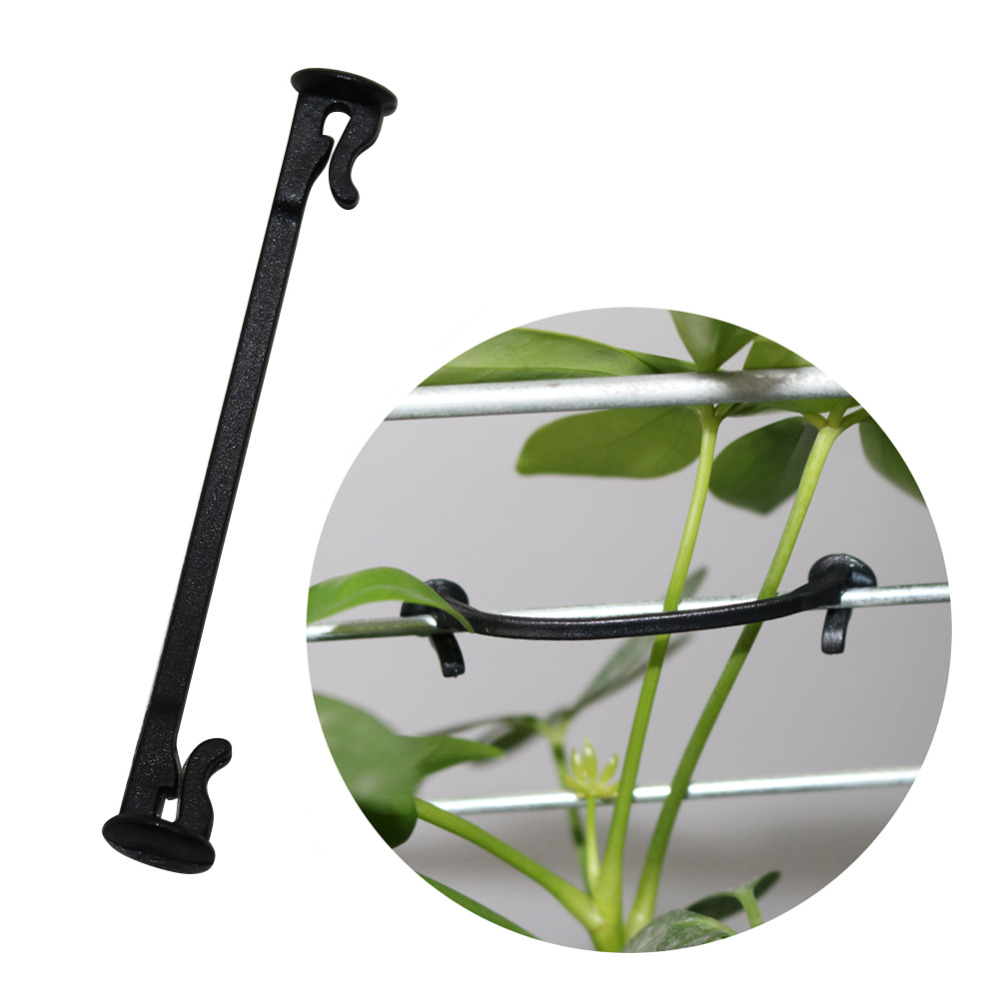 Agricultural Plant Vines Tied Buckle Fixed Lashing Hook Greenhouse Garden Flower Plant Tie For Garden Tools 2000 Pcs