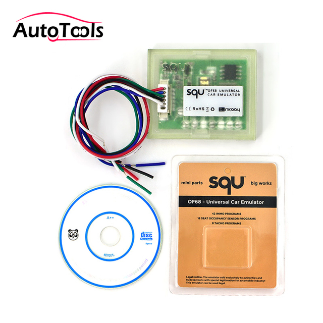 US $9 84 22% OFF|Top quality SQU OF68 Universal Car Emulator SQU OF 68  Signal Reset Immo Programs Place ESL Diagnostic Seat Occupancy Sensor Tool  on
