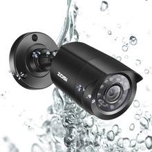 ZOSI 720 P 3,6 мм Len CCTV водостойкие видео домашние съемки 24 светодиодный потолочный ночного видения Поддержка аналоговый видеорегистратор окна 8 BNC соединения