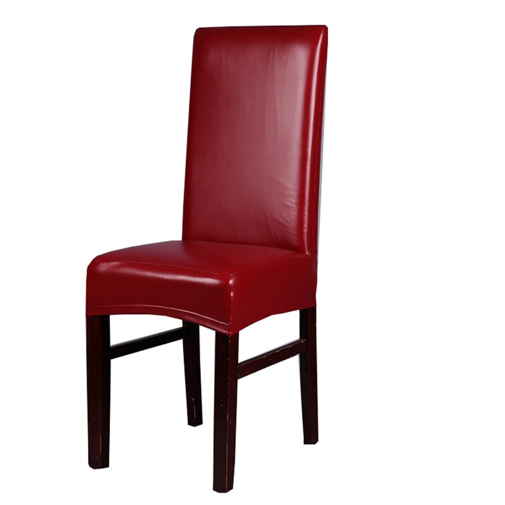 Office Chair Cover Spandex stoelhoezen eetkamer Elastic coffee color ...
