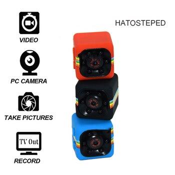 SQ11 инфракрасный миниатюрный площадь Камера Ночное видение High definition Мини Камера Мини Малый DV движения наблюдения Камера Поддержка baby monitor ск...