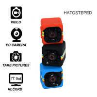 SQ11 Mini cámara 1080 P deporte DV Mini Monitor de visión nocturna infrarroja oculta pequeña cámara SQ 11 pequeña cámara DV grabadora de vídeo