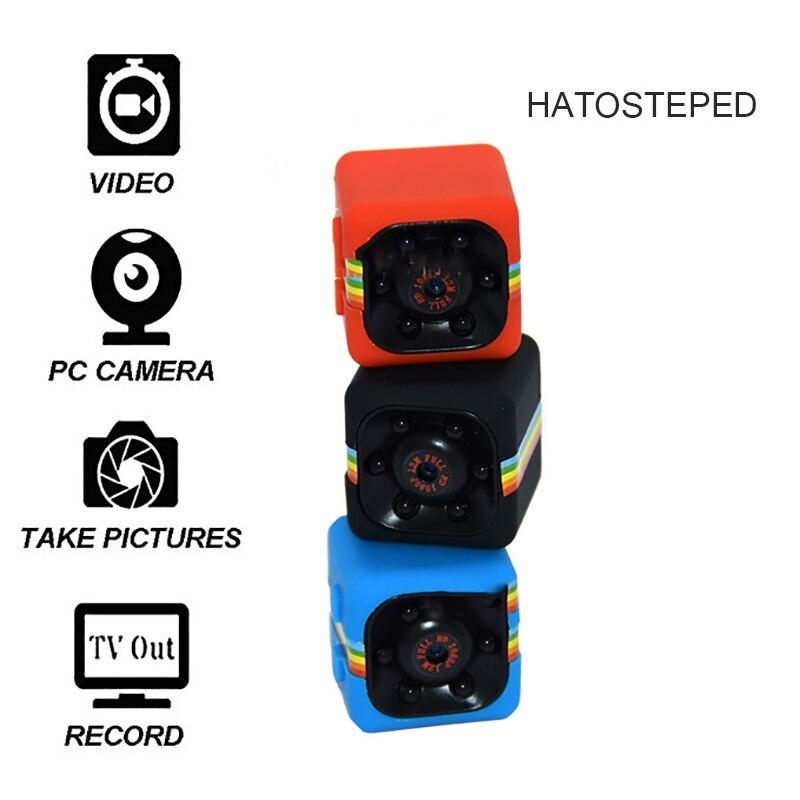 SQ11 Mini cámara 1080 p deporte Mini DV visión nocturna infrarroja Monitor oculta pequeña cámara SQ 11 pequeño DV grabadora de vídeo