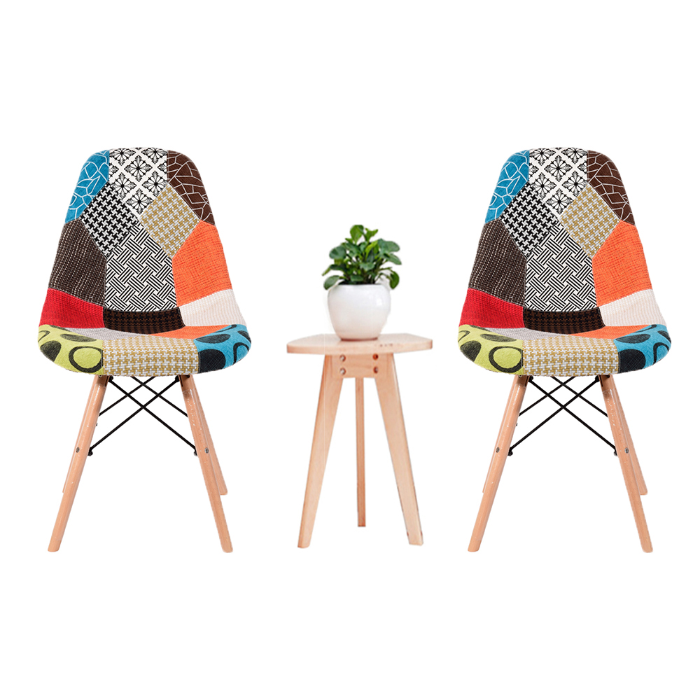 Panana Nordic Minimalism Dining Office Chair Solid Wood Leg Leisure Bar Coffee Chair Vintage Tub For Reception Room Dinner room