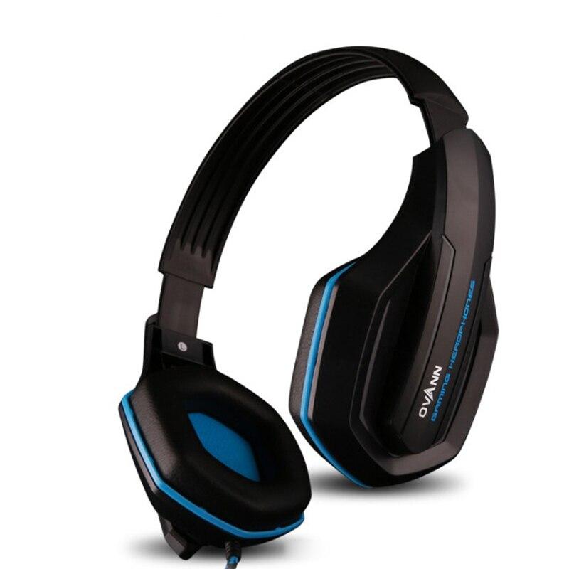 Ovann 3,5 mm Plug Professional HIFI Stereo Bass igralne slušalke - Prenosni avdio in video - Fotografija 2