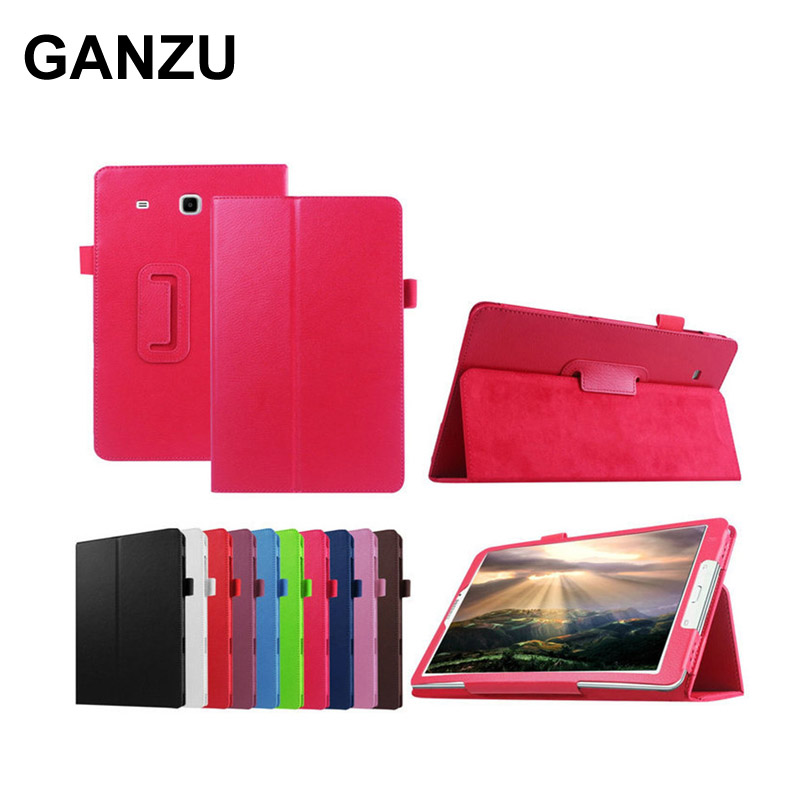 PU Leather Tablet Case Cover For Samsung Galaxy Tab E T560 T561 SM-T561 High Quality Folding Stand Protective Shell 9.6 inch tablet case for samsung galaxy tab a 10 1 p585 flip leather case cover slim protective stand shell case for samsung sm p585 skin