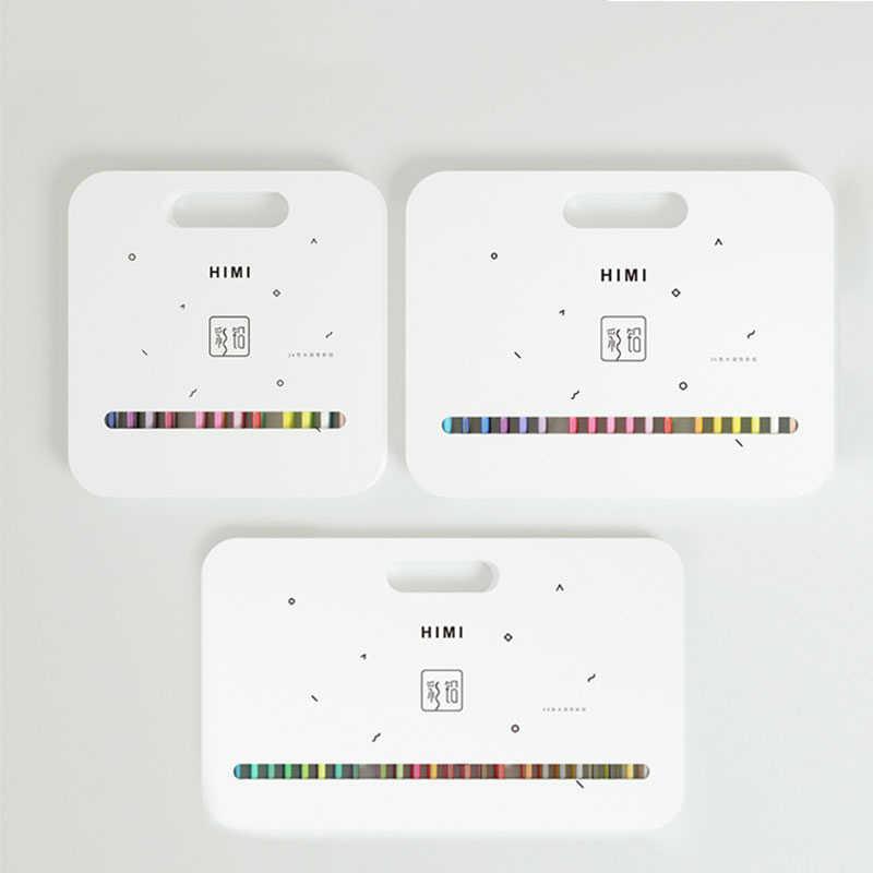HIMI couleur plomb ensemble 24/36/48 couleur soluble dans l'eau peint à la main illustration course coloriage stylo art fournitures