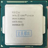 Intel Core PC Processor I3 4150 I3 4150 CPU LGA1150 22 nanometers Dual Core 100% working properly Desktop Processor