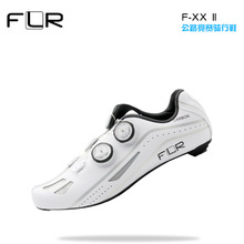 цена на FLR Road Professional Road Bike SPD Carbon Cycling Shoes Racing Shoes  Fiber Road Bike Shoes Athletic Bicycle Sports Shoes FXX