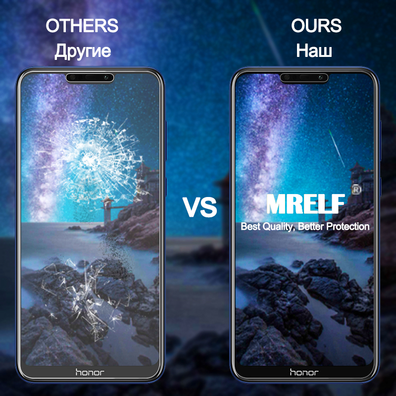 Image 3 - Tempered Glass for Huawei Honor 8X 8A 9X Pro Screen Protector Honor 8A 8S 8C Safety Protective Glass for Huawei Honor 8X 9X Pro-in Phone Screen Protectors from Cellphones & Telecommunications