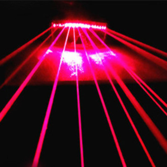 New Drop Ship Red Laser Stage DJ Glasses KTV For Party Show Disco