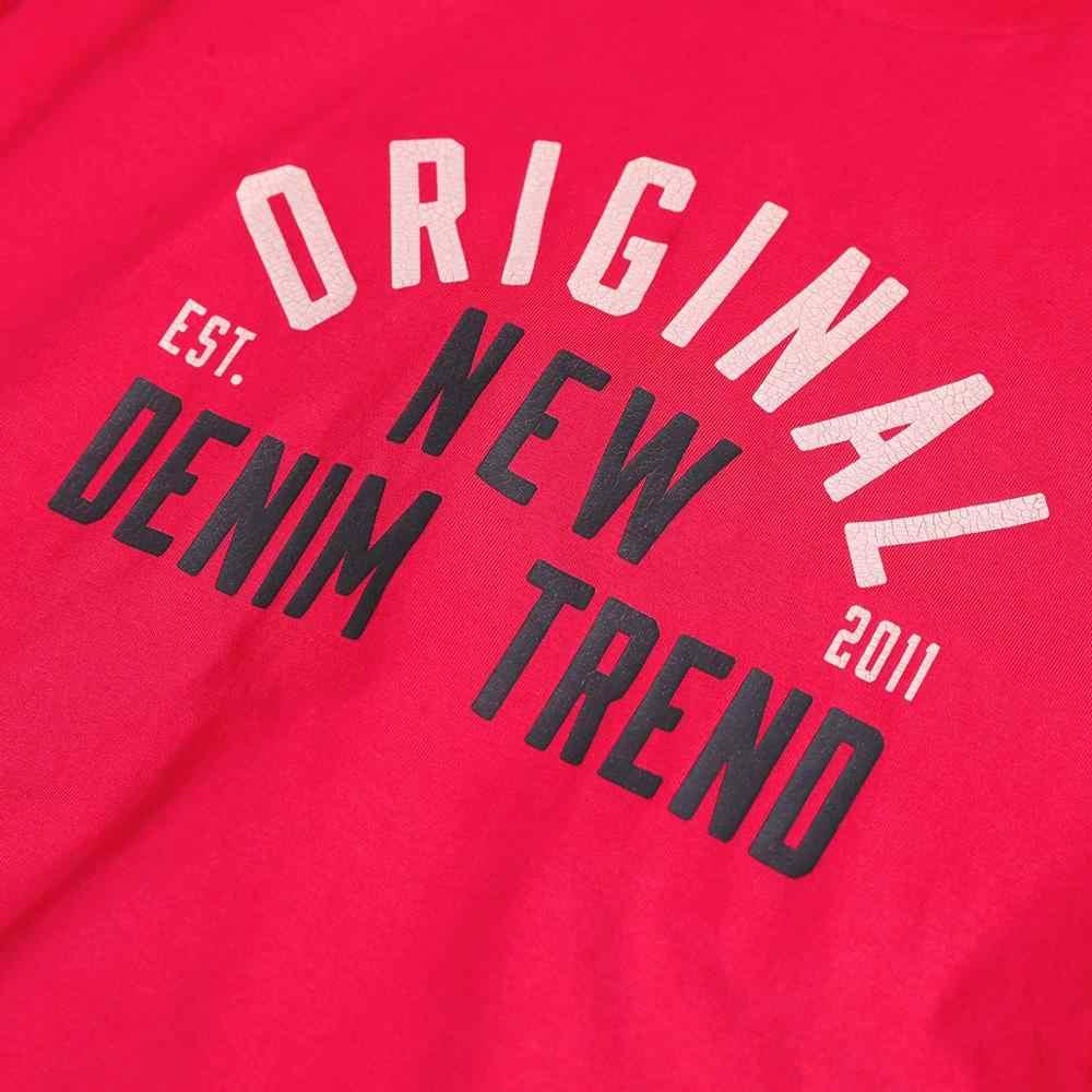 SIMWOOD летняя новая футболка с буквенным принтом Мужская Винтажная футболка с эффектом выцветания 100% хлопок Мода 2019 Топ Плюс Размер брендовая одежда 190261