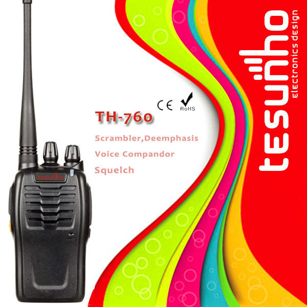 TESUNHO TWO WAY RADIO TH-760 handheld walkie talkie UHF only