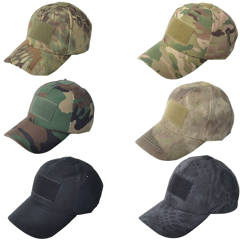 bdd47d0cf2d42 Tactical Army Military Camouflage Tatical Cap Airsoft Paintball Outdoor  Hunting Baseball Caps Men Multicam Soldier Combat