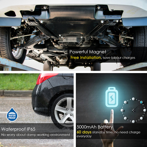 Image 4 - 3G lokalizator gps samochód TKSTAR TK905 3G 60 dni gotowości wodoodporny magnetyczny GSM/lokalizator gps Alarm wibracyjny darmowa aplikacja PK TK905 Tracker