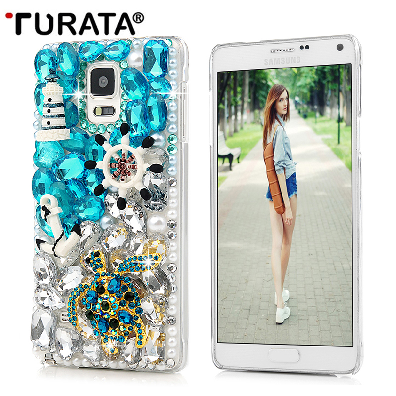 Buy 3D Rhinestone Case For Samsung Galaxy S6 S7 S8 Edge Note 4 5 J3 J5 Bling Crystal Diamond Protective Shell Cover For S8 Plus T3 for only 10.24 USD