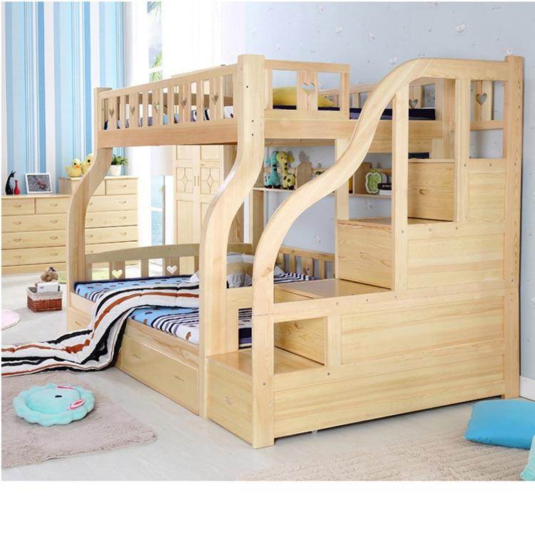 Directo de fábrica cama de madera maciza siguiente nivel imagen ...