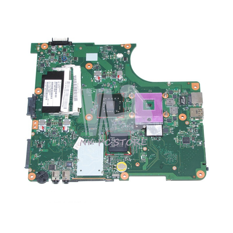 V000138830 PN 1310A2264932 Main Board For Toshiba Satellite L300 L305 Laptop Motherboard GM45 DDR2 with Free CPU v000138330 laptop motherboard for toshiba satellite l300 ddr2 full tested mainboard free shipping