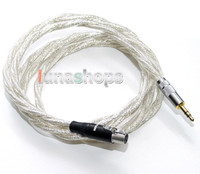 3 5mm Silver Plated Cable OFC For AKG K701 Headphone Earphone With Shield Layer LN004142