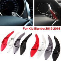 Savanini 2pcs Alloy Add On Steering Wheel DSG Paddle Shifters Extension For Hyundai Elantra 2012 2016
