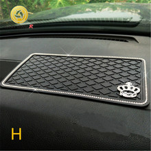 WINNER  Automotive anti-skid pad durable storage pad control car perfume mobile phone ornaments in high  temperature Anti Slip car supplies mobile phone anti skid pad silicone pu round anti skid pad for mobile phones keys glasses car gadget other