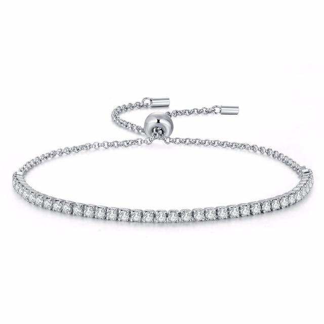 Sterling Silver adjustable Charm Bracelets
