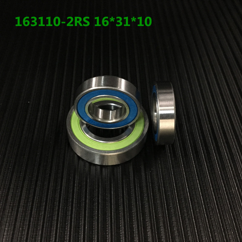 Free Shipping High Precision Bicycle Bearing 163110-2rs 16*31*10mm Vp, Neco Middle Axis Bb Repair Parts Axle Bearing 163110 bicycle wheel bearing repair parts 16287 2rs 61902 16 2rs 16 28 7 mm