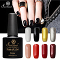 Saviland 1pcs Gel Nail Polish Gel Paints Varnish Soak Off Top Base Coat Esmaltes Permanentes de UV Lacquer Gel