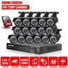 16CH 1080 P HDMI DVR 2000TVL 720 P HD na zewnątrz nadzoru aparatu bezpieczeństwa w 16 kanałowy CCTV zestaw DVR kamera AHD zestaw 2 TB HDD