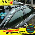 Para Toyota Camry carro styling 2015-16 Para Camry Janela Chuva escudo chuva sobrancelha especial Originais bloco chuva escudo janelas de tempestade
