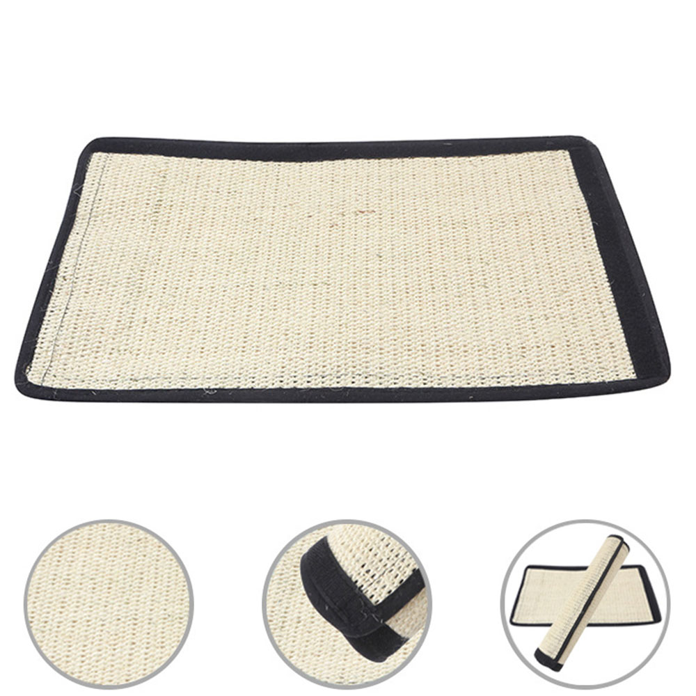 Cat Scratching Post Natural Sisal Mat Toy Protecting Furniture Foot For Cats Catnip Tower Climbing Tree Cat Scratch Pad Board