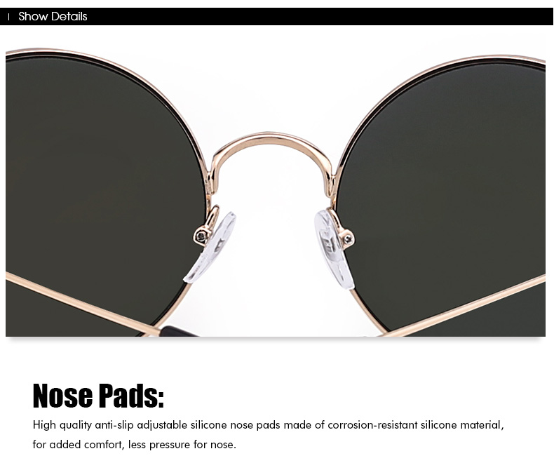 Cheap Reflective Retro Round Sunglasses for Womens Mens